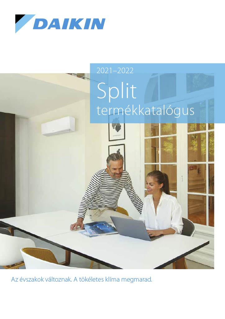 Daikin split 2021-2022 split termékkatalógus